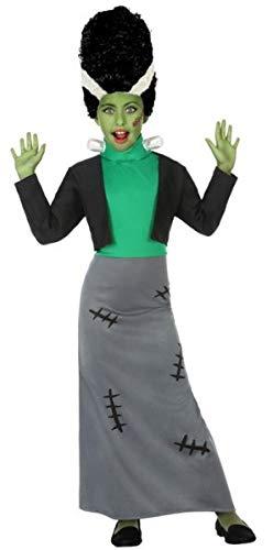 Fancy Me Halloween-Kostüm für Mädchen, Motiv: grünes Monster Horror-Film, 3-12 - Grüne Monster Mädchen Kostüm