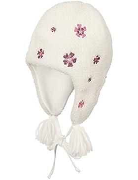 Sterntaler Inka-Mütze für Mädchen mit Bommel und Bindebändern
