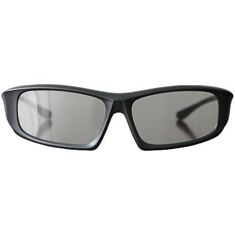 Ultra - Juego de gafas 3D para televisores, cine y proyectores (5 pares, pasivas), color negro