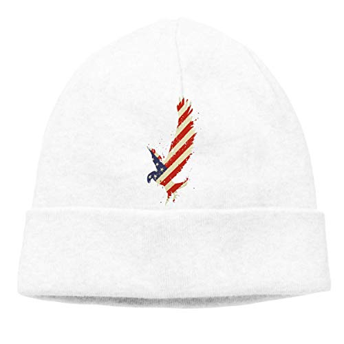 National Flag Warm Stretchy Solid Daily Skull Cap Knit Wool Beanie Hat Outdoor Winter Chunky Knit Visor Beanie
