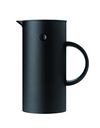 Stelton 812 EM Pressfilterkanne 1 L, Kunststoff, schwarz, 14 x 14 x 22 cm