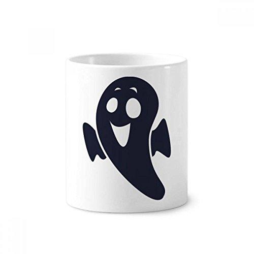 DIYthinker Halloween Emaciated Wenig Devil Keramik Zahnbürste Stifthalter Tasse Weiß Cup 350ml Geschenk 9.6cm x 8.2cm hoch Durchmesser