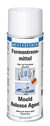 WEICON Formentrennmittel / 400ml / hochwertiges Silikon -freies Trennspray / verhindert effektiv das Haften an Kunststoffen Metallen Werkzeugen / farblos