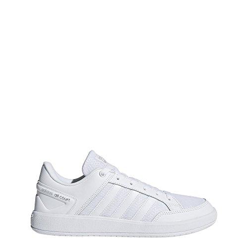 adidas Damen Cloudfoam All Court Gymnastikschuhe Elfenbein (Ftwr White/ftwr White/grey Two F17 Ftwr White/ftwr White/grey Two F17)