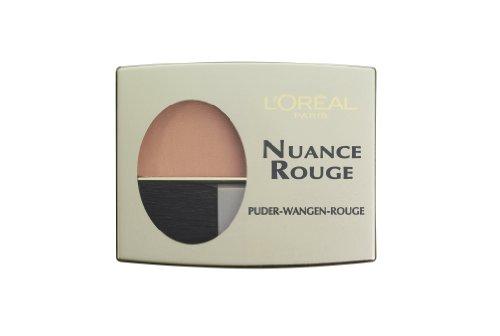 L'Oréal Paris Nuance Rouge, 110 Pfirsich / Wangenrouge für natürlich-mattes Make-Up-Finish, für...