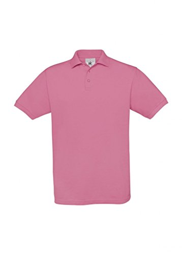Piqué Poloshirt 'Safran' Pixel Pink