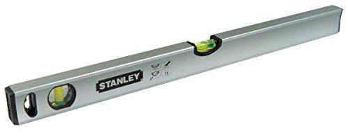Stanley Wasserwaage Klassik (200 cm Länge, magnetisch, schlagfeste Blocklibelle, große Seitenlibelle) STHT1-43117