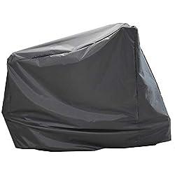 IDWOI Couverture imperméable à la poussière de Couverture de Table de Couverture imperméable à la poussière de Couverture de Meubles de Jardin (Color : Black, Size : 124X58X147CM)