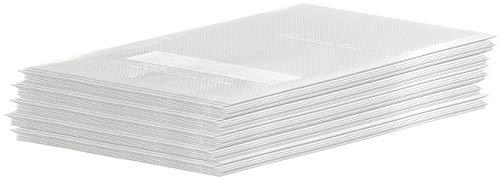 Rosenstein & Söhne Gefrierbeutel goffriert: 50 Profi-Folienbeutel für Balken-Vakuumierer, 15 x 20 cm (Vakuumbeutel)