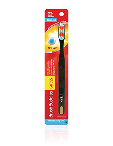 BrushBuddies Caress 00619-24 Zahnschmelzpflege