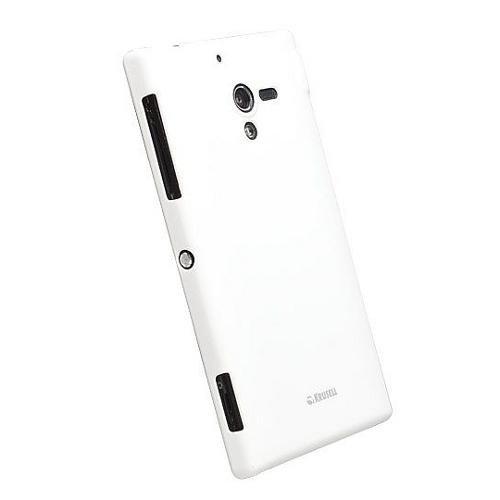 Krusell ColorCover Weiß Metallic für Sony Xperia ZL