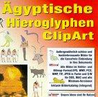Ägyptische Hieroglyphen ClipArt - CD- ROM für Windows, Mac -