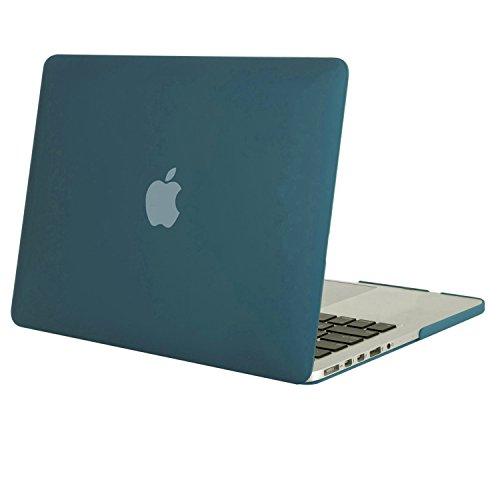MOSISO MacBook Pro 13 Retina Hülle (NO CD-ROM Drive) - Ultra Slim Hochwertige Hartschale Tasche Schutzhülle Snap Case für MacBook Pro 13 Zoll mit Retina Display (A1502 / A1425, Version 2015/2014/2013 / Ende 2012), Deep Teal