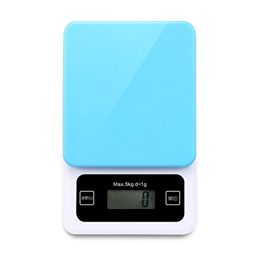 HUIJU Digitale Küchenwaage Kunststoff Elektronische Hochpräzise Backen 1 G Genaue Peeling-Funktion