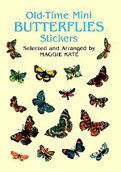 Dover Sticker Book Old Time Mini Butterflies