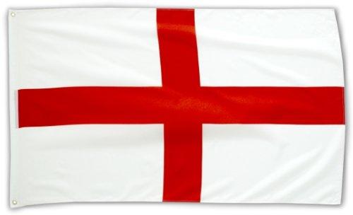 MM England Flagge/Fahne, wetterfest, mehrfarbig, 150 x 90 x 1 cm, 16283