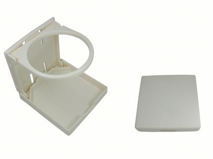 Boat Caravan Tractor Nylon Plastic Folding Drink Can Cup Holder White Test