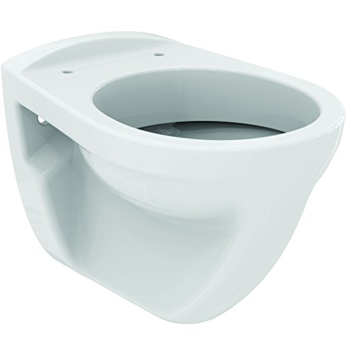 AquaSu Wand-WC | Flachspüler | Hängetoilette | Keramik | Weiß