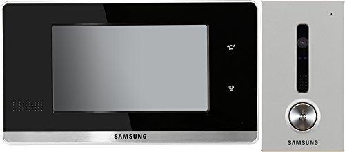 """Samsung Video Türsprechanlage 7\"""" Full-Touch Innenstation mit 1-Fam. Außenstation Komplett Set"""