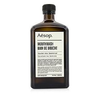 Aesop Mouthwash - 500ml. Beautiful Glass Bottle. Clove :: Aniseed :: Spearmint Leaf (Bain de Bouche)
