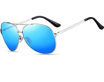 ATTCL® Klassische Piloten polarisierten Aviator Sonnenbrillen Herren Angeln Außen 8009 Blue Esm4WnI