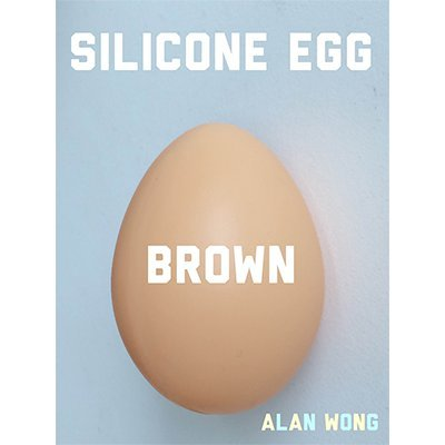 SOLOMAGIA Silicone Egg (Brown) by Alan Wong - Accessories - Trucos Magia y la Magia