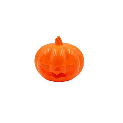 DERKOLY Halloween Kürbis LED Lampe Jack O Lantern -