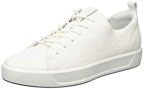 ECCO Damen Soft 8 Ladies Sneakers, Weiß (1007WHITE), 38 EU -