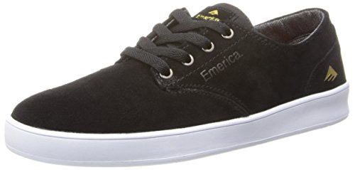 Emerica The Romero Laced, Chaussures de skateboard homme Noir (Black/White 976)