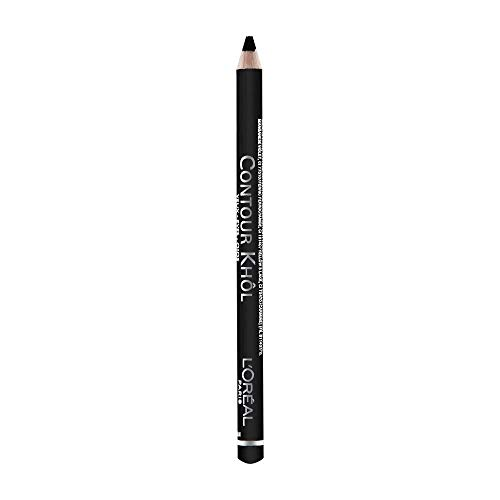L'Oréal Paris Color Riche Le Khol Matita Occhi, 101 Midnight Black