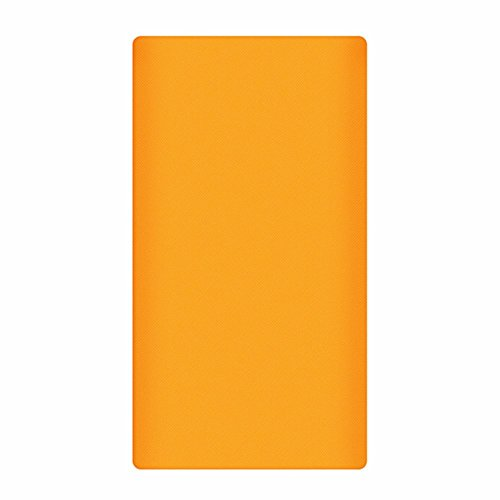 Heartly Strip Style Soft Silicone Pouch Protector Cover Case For 10000mAh Mi Power Bank 2 (Version 2) - Mobile Orange  available at amazon for Rs.299