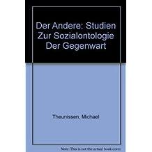 Der Andere: Studien zur Sozialontologie der Gegenwart (De Gruyter Studienbuch)