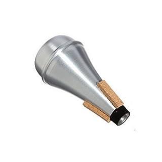 ACMEDE Aluminium Dämpfer für Straight Trompete Silber