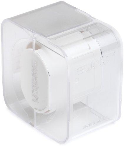 Swatch Unisex-Armbanduhr Classic Grey Shirt Analog Quarz Edelstahl YGS766G -