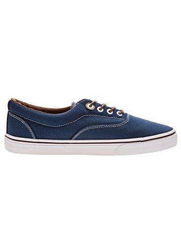 Sneakers In Cotone Da Uomo Oodji Ultra Basic Blu (7900n)