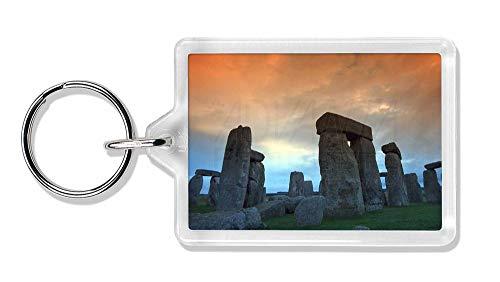 Advanta - Keyrings Stonehenge Solstice Sunset Foto Schlüsselbund TierstrumpffüllerGeschenk
