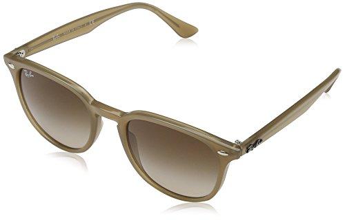 Ray Ban Unisex-Erwachsene Sonnenbrille RB4259, Mehrfarbig (Gestell: Opal beige,Gläser: braun verlauf 616613), Medium (Herstellergröße: 51)