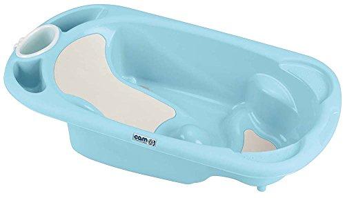 CAM Il mondo del bambino C090/U47 Vaschetta Baby Bagno, Azzurro