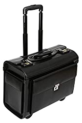 "Pilot case with wheels - business trolley for laptops 16 ""- carry-on luggage size"