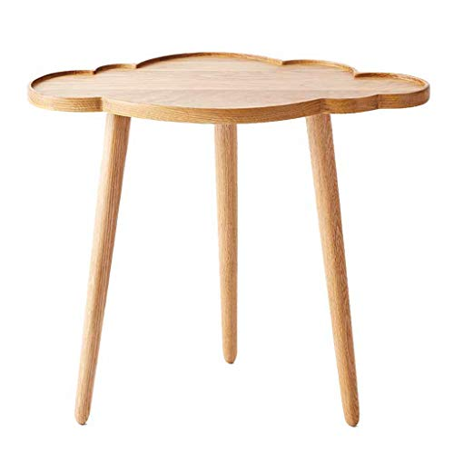 Tables basses Tables Table Basse Moderne en Bois Massif Simple Table D'appoint Chambre Salon Table Mobile Table De Chevet Table De Téléphone Balcon Table De Loisirs
