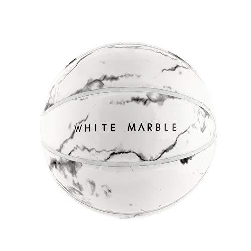 SPHERE Paris White Marble Basketball - Size 7