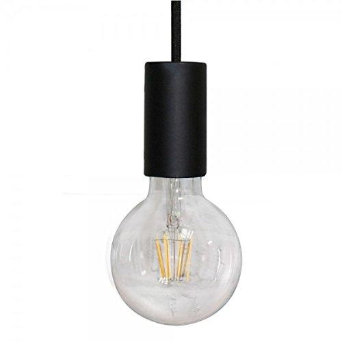 Wonderlamp w-a000004Pendelleuchte E27Fassung, Schwarz, 180x 4.5cm (Anhänger-beleuchtungs-befestigung)
