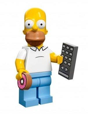 Lego Minifiguras serie 71005 - HOMER Simpson