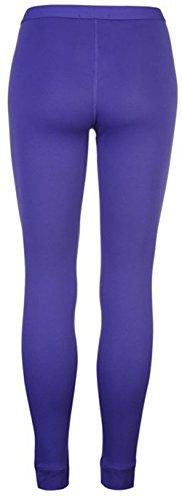 Mesdames Femmes extensible Couche de base thermique Pantalon pour homme Violet
