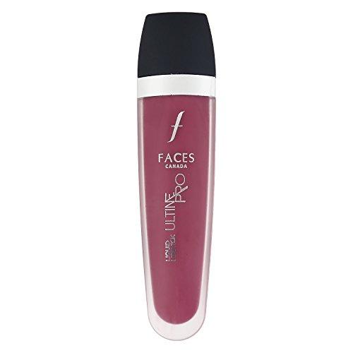 Faces Ultime Pro Liquid Matte Lipstick, Berry Boost 06, 6ml