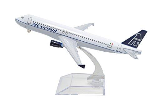tang-dynastyr-1400-mexicana-airlines-air-bus-a320-buona-lega-modellino-aereo-giocattoli
