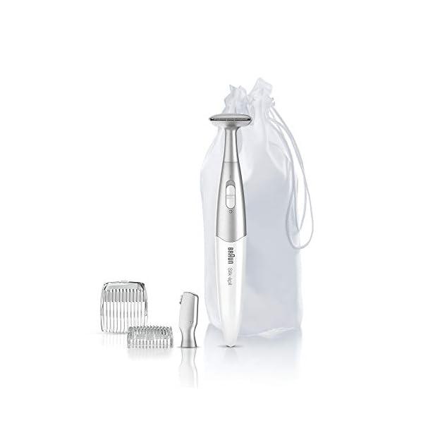 Braun Silk Epil Bikini Styler FG1100 3 In 1 Precision Bikini Trimming And Styling With 4 Extras White