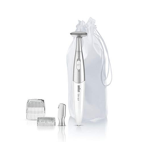 Braun Silk-épil Bikinitrimmer FG1100, mit 4Extras, weiß