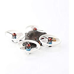 Huihuiya Micro Drone de Carreras FP8 RC de LDARC ET115 5.8G con cámara VTX de 16 MW 16CH OSD 12A BLHELIS Receptor Flysky RX2A Pro Versión PNPWhite-Ring-