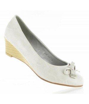 Chaussure Bas Prix - Escarpins gris - MB188-147-2 Gris